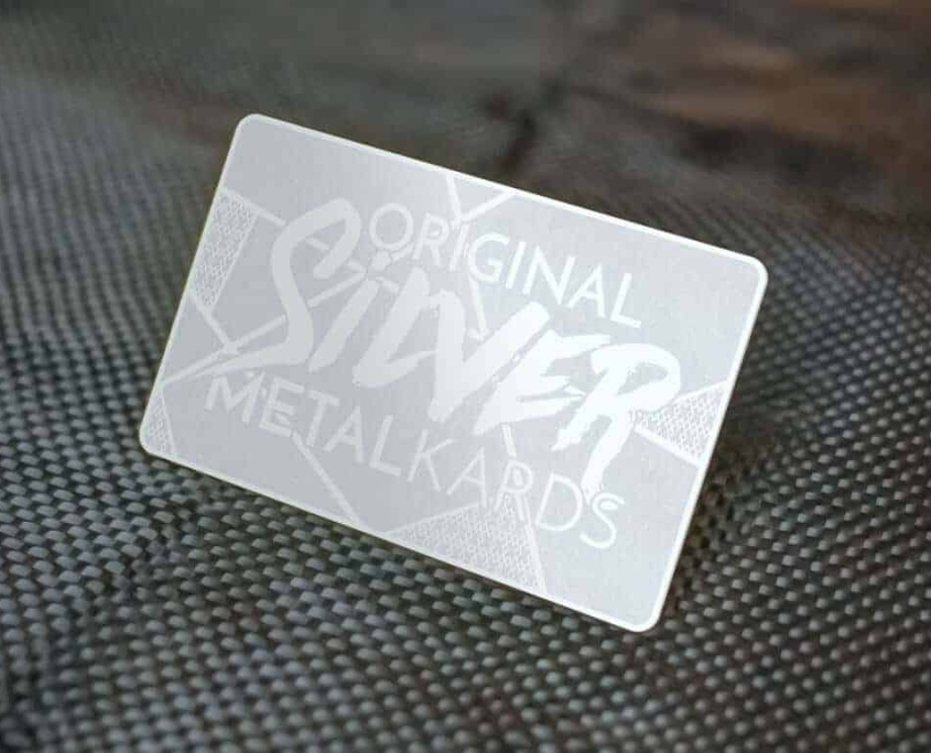 Stainless Steel Business Cards MetalKards