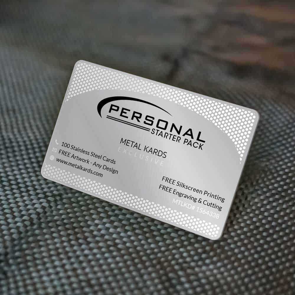 personal metal cards package cheap metal cards metalkards